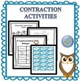 contractions and negatives teaching resources teachers