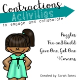 Contraction Activities to Engage and Collaborate