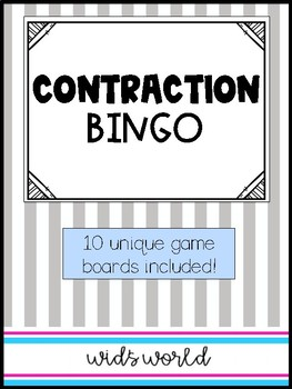 Contraction BINGO!