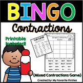 Contraction BINGO {Mixed Contractions}