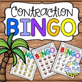 Contraction BINGO for Second Graders