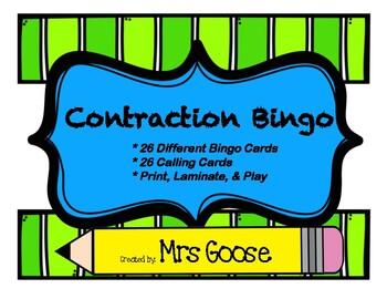 Contraction Bingo