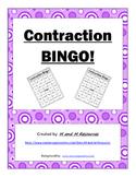 Contraction Bingo Game