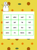 Contraction Bingo for Intervention, small group, and RTI