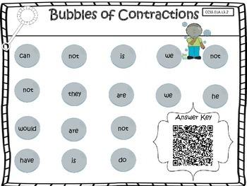Contraction Bubbles