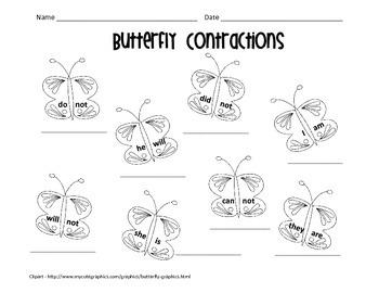 Contraction Butterflies