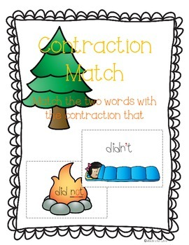 Contraction Campout: Independent Common Core Activities