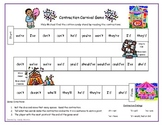 Contraction Carnival Literacy Station Game RF.1.3, RF.2.3, L.2.2