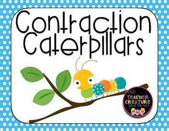 Contraction Caterpillar Craftivity!
