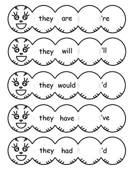 Contraction Caterpillars