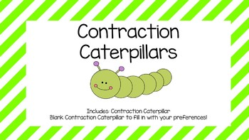 caterpillar template teaching resources teachers pay teachers