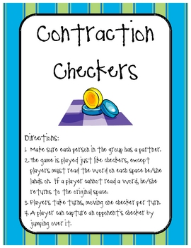 Contraction Checkers Center