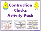 Contraction Chicks - Spring Activity Pack