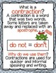 Contraction Clinic - Rules and Anchor Charts for Contractions