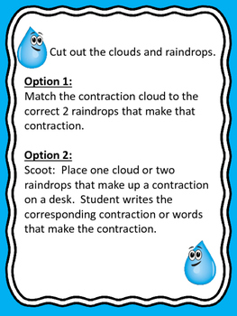 Contraction Clouds