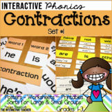 Contraction Activities Set #1: Posters, Sorts & Worksheets