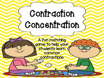 Contraction Concentration Game