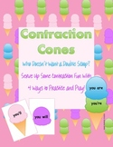 Contraction Cones: Four Contraction Games