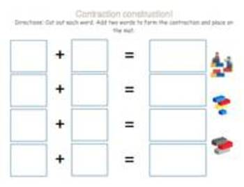 Contraction Construction Game- To be