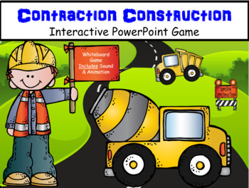 Contraction Construction ~ Interactive PowerPoint Game
