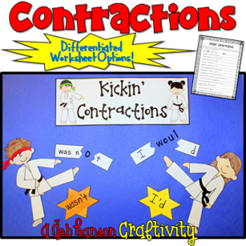 Contractions Craftivity