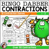 BINGO DABBER CONTRACTIONS