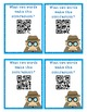 Contraction Detective Matching Game with QR Codes FREEBIE