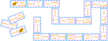 Contraction Dominoes