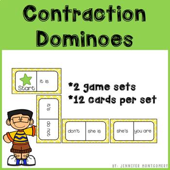 Contraction Dominoes