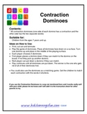 Contraction Dominoes Game