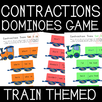 Contraction Dominoes Train