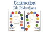 Contraction File Folder Board Game