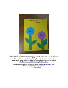 Contraction Flower Project