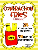 Contraction French Fries (EDITABLE)