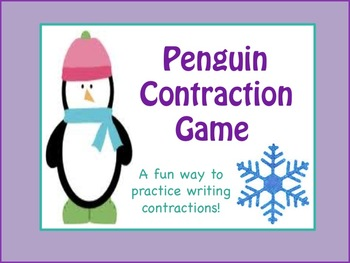 Contraction Game: Winter Penguins