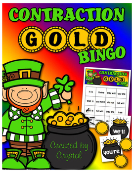 Contraction Gold Bingo
