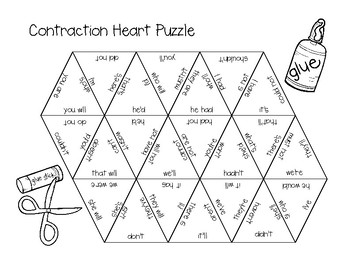 Contraction Heart Puzzle