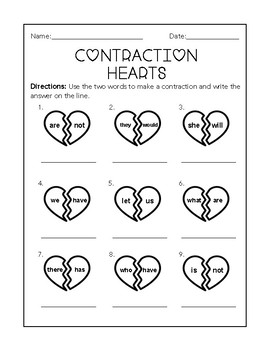 Contraction Hearts