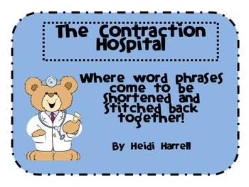 Contraction Hospital Craftivity