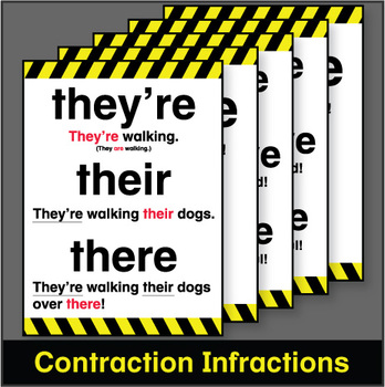 Contraction Infraction Posters