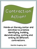 Contraction Literacy Center and Activities