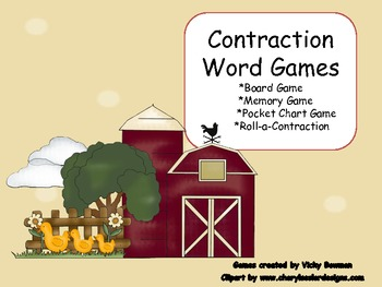 Contraction Literacy Station Games
