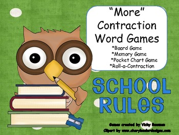 Contraction Literacy Station Games-2