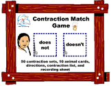 Contractions Game: Contraction Match Game