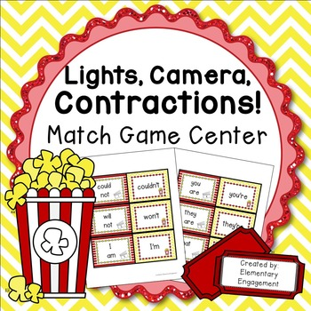 Contraction Match Game and Center