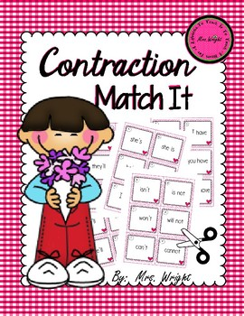 Contraction Match It Game