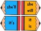Contraction Match Task Cards