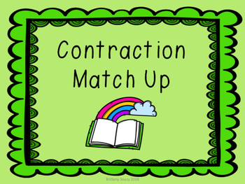 Contraction Match Up!