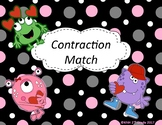 Contraction Match: Valentine's Day