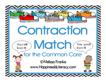 Contraction Match for the Common Core
